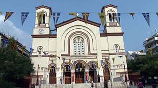 Ιερός Ναός Αποστόλου Παύλου οδού Ψαρών - Διεύθυνση Ψαρών 51-55  Αθήνα